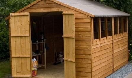 8 Foot By 6 Foot Wooden Shed